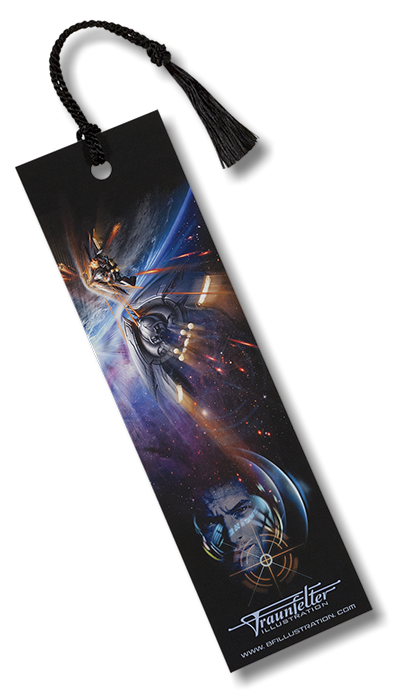 """Collision Earth"" bookmark for sale."